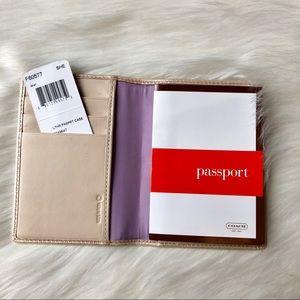 Coach Bags - Authentic Leather Coach Passport Wallet